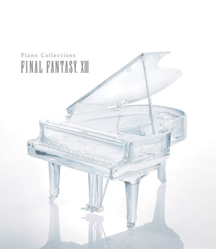 『ピアノ・コレクションズ ファイナルファンタジーXIII』ジャケット画像 (C)2009, 2010 SQUARE ENIX CO., LTD. All Rights Reserved. CHARACTER DESIGN:TETSUYA NOMURA