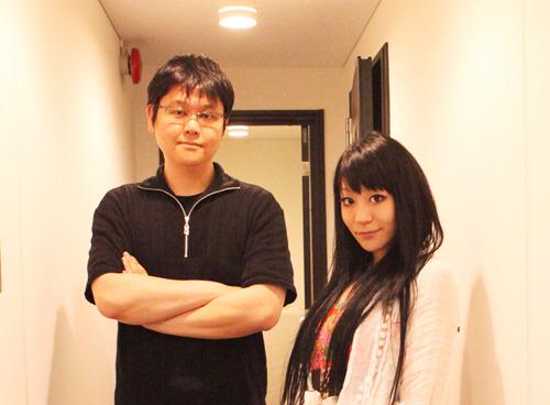 「Radioなおしゃべる。」より、伊藤賢治(左)、nao(右) (C)5pb.