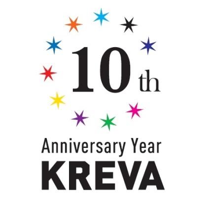 KREVA 10th Anniversary Year ロゴ (okmusic UP\'s)