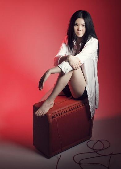 2010年4月にデビューしたばかりの舞花 (c)Listen Japan