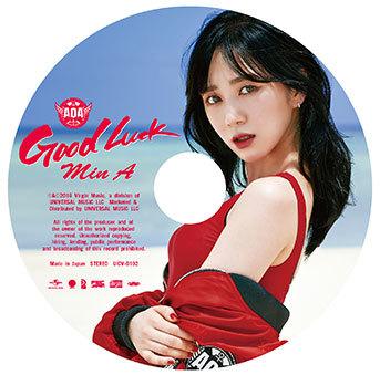 シングル「Good Luck」【ピクチャレーベル盤】(初回限定盤)MINA (okmusic UP's)