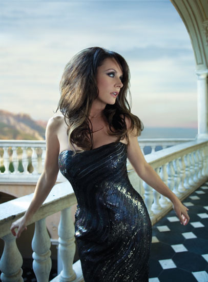 世界人気を誇るソプラノ歌手、サラ・ブライトマン (c)Listen Japan