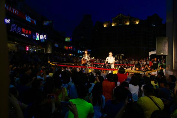 7月15 日@台湾・台北市の西門紅樓廣場 (okmusic UP's)
