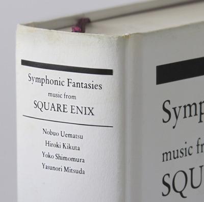『スクウェア・エニックス ゲーム音楽コンサート Symphonic Fantasies - music from SQUARE ENIX』ジャケット画像 (C)2010 SQUARE ENIX CO., LTD.