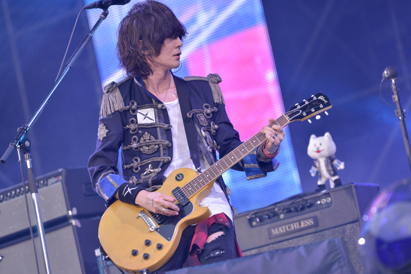 "『BUMP OF CHICKEN STADIUM TOUR 2016 ""BFLY""』@神奈川・日産スタジアム photo by 古溪一道 (okmusic UP's)"