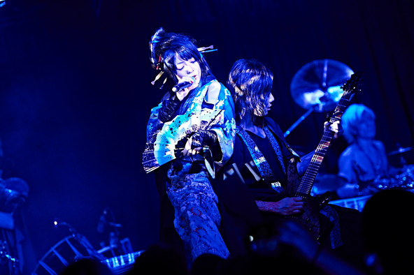 『WagakkiBand 1st US tour 衝撃 -DEEP IMPACT-』@ロサンゼルス (okmusic UP's)