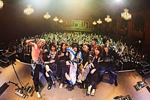 『WagakkiBand 1st US tour 衝撃 -DEEP IMPACT-』@サンフランシスコ (okmusic UP\'s)