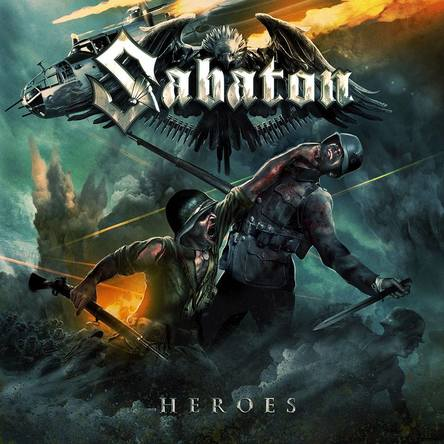 SABATON「Heroes」のジャケット写真 (okmusic UP\'s)