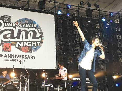 """7月24日(日)@「UMK SEAGAIA JamNight2016~40th anniversary~ """"Juke Night ~J-ROCK&POPS~」 (okmusic UP's)"""