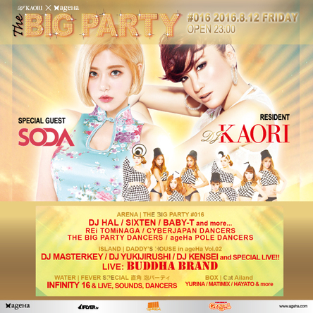 『THE BIG PARTY #016 SUMMER SPECIAL』 (okmusic UP\'s)
