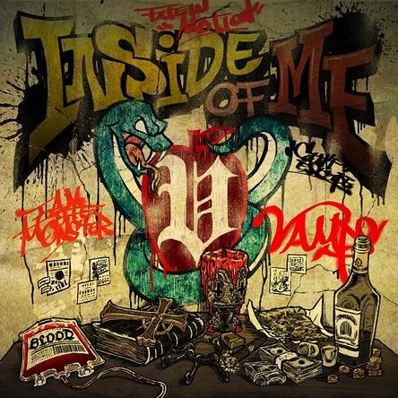 シングル「INSIDE OF ME feat. Chris Motionless of Motionless In White」 (okmusic UP's)