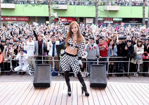 4月5日@東京ドームシティ・ラクーアガーデンステージ (okmusic UP\'s)