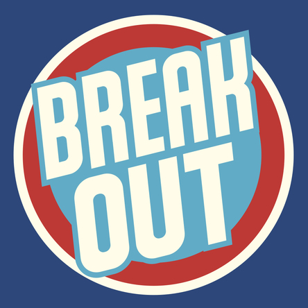 「Break Out」ロゴ (okmusic UP's)