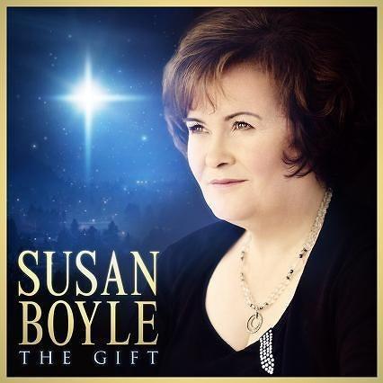 スーザン・ボイルの2ndアルバム『ザ・ギフト〜夢の贈りもの』 (c)Lsiten Japan