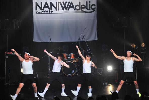 『NANIWAdelic』(藤崎マーケット×ぽこた×koma'n) (okmusic UP's)