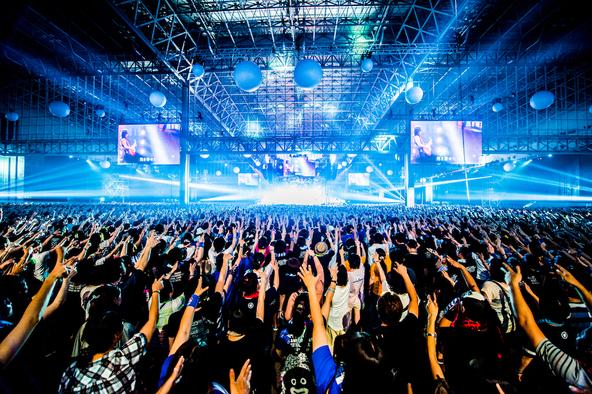 7月31日@幕張メッセ (okmusic UP's)