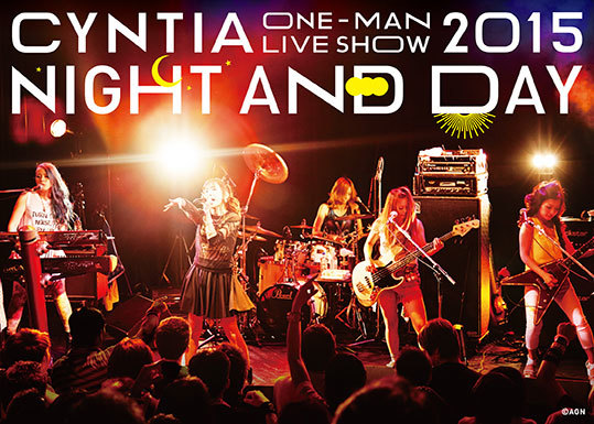 "DVD『CYNTIA ""NIGHT AND DAY"" LIVE DVD』 (okmusic UP's)"
