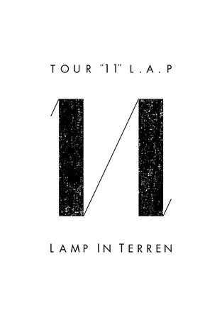 """「TOUR """"11"""" L.A.P」ロゴ (okmusic UP's)"""