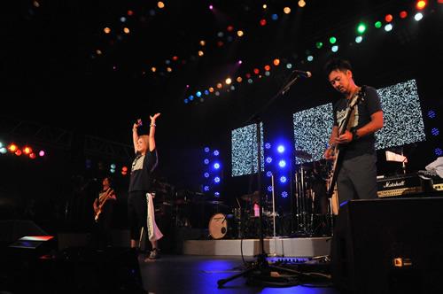 デビュー日9月29日に「11周年ライブ」を開催したDo As Infinity (c)Listen Japan