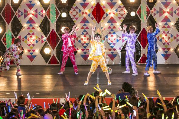 8月2日(火)@『コカ・コーラ SUMMER STATION 音楽ライブ』 (okmusic UP's)