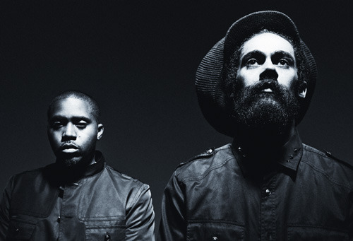 Nas&Damian Jr Gong Marley official photo by Nabil Elderkin (c)Listen Japan