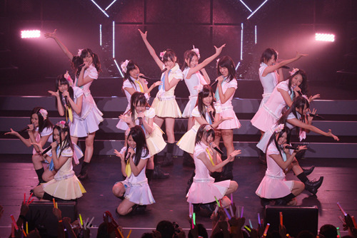 東京で初の単独公演を開催したSKE48の白熱のライヴ・ステージ1 (c)Listen Japan