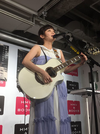 8月3日@HMV&BOOKS TOKYO(渋谷) (okmusic UP's)