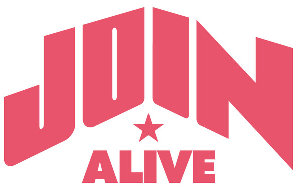 『JOIN ALIVE』ロゴ (okmusic UP\'s)