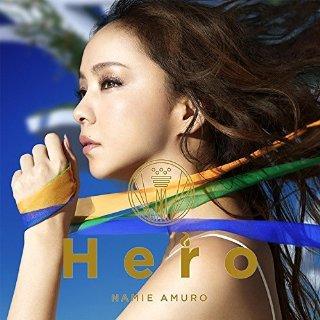 安室奈美恵「Hero」のジャケット写真 (okmusic UP\'s)