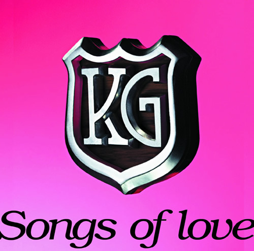 KGのアルバム「Songs of love」 (c)Listen Japan