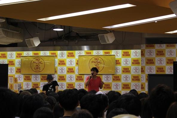 8月5日@タワーレコード新宿店 (okmusic UP's)