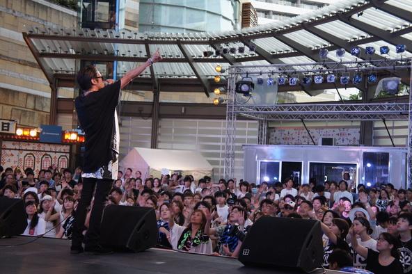 8月6日@「テレビ朝日・六本木ヒルズ夏祭り SUMMER STATION」 (okmusic UP\'s)