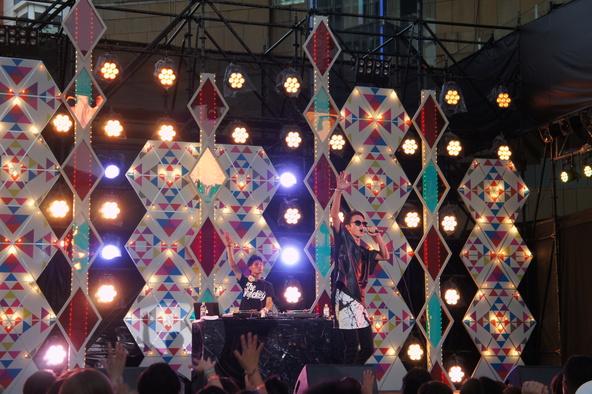 8月6日@「テレビ朝日・六本木ヒルズ夏祭り SUMMER STATION」 (okmusic UP's)
