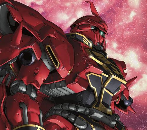 描き下ろしの「『機動戦士ガンダム UC』赤い彗星スペシャルパッケージ」仕様となる「Everlasting」期間生産限定盤ジャケット画像 (C)創通・サンライズ (c)ListenJapan