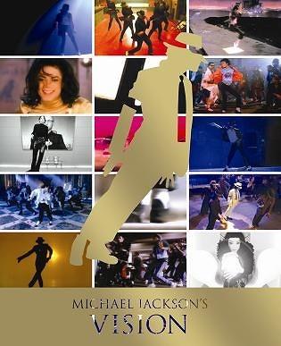 マイケル・ジャクソン究極のショート・フィルム集『マイケル・ジャクソン VISION』ジャケット (c)Listen Japan