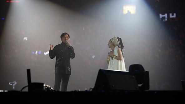 4月6日(日)@「2014 Jackie Chan Peace, Love and Friendship Concert」 (okmusic UP\'s)