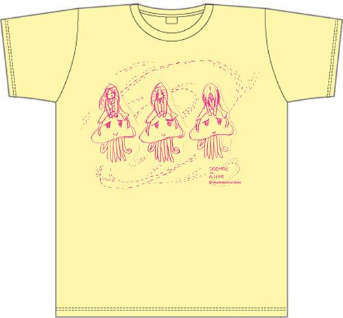 やくしまるえつこによる描き下ろしイラストのTシャツ (c)ListenJapan