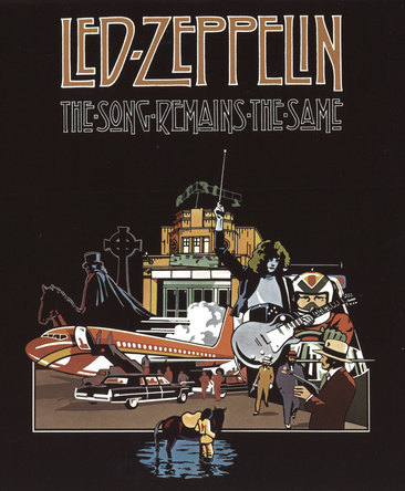 "『レッド・ツェッペリン狂熱のライブ[Led Zeppelin ""The Song Remains the Same"" ]』 (okmusic UP\'s)"