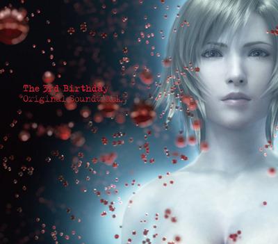『The 3rd Birthday オリジナル・サウンドトラック』ジャケット画像 (C)2010 SQUARE ENIX CO.,LTD. All Rights Reserved.  CHARACTER DESIGN:TETSUYA NOMURA (c)ListenJapan