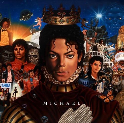 マイケル・ジャクソンのニューアルバム『MICHAEL』ジャケット写真 (c)Listen Japan