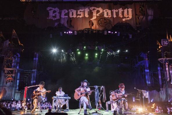 8月14日(日)@大阪・舞洲 太陽の広場 (okmusic UP's)