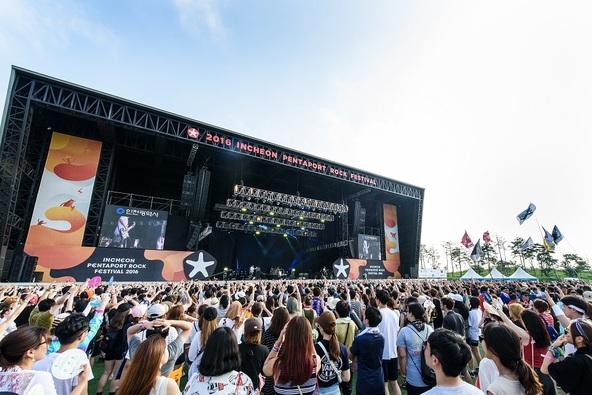 8月14日(日)@『INCHEON PENTAPORT ROCK FESTIVAL 2016』 photo by Chester Photography (okmusic UP's)