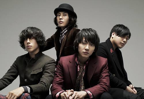 来年1月に2ndアルバムを発売するflumpool (c)Listen Japan