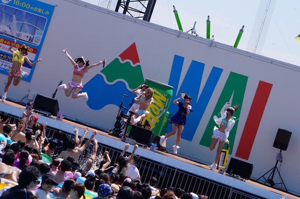 8月17日@よみうりランド プールWAI 波のステージ (okmusic UP\'s)