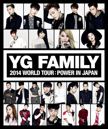 『YG FAMILY WORLD TOUR 2014 ?POWER- in Japan』 (okmusic UP\'s)
