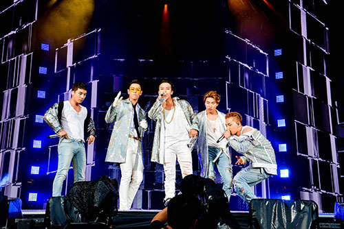 『BIGBANG 10 THE CONCERT:0 TO.10 IN JAPAN』@ヤンマースタジアム長居 (okmusic UP\'s)