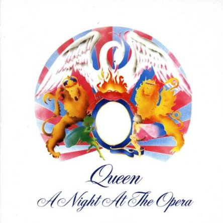 Queen『A Night at the Opera』のジャケット写真 (okmusic UP\'s)