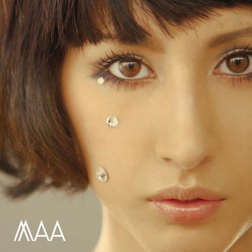 MAA、2ndシングル「バレリーナ・ブレインシステム」ジャケット (c)Listen Japan