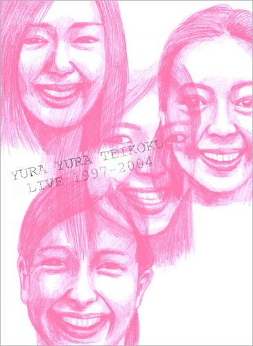 ゆらゆら帝国初のライヴDVD『YURA YURA TEIKOKU LIVE 1997-2004』、ジャケットを公開 (c)Listen Japan