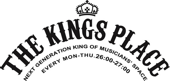 「THE KINGS PLACE」ロゴ (okmusic UP's)
